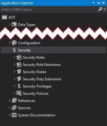 Application Explorer Security
